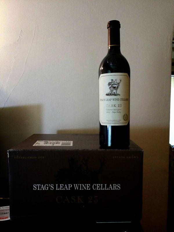 Stag's leap cask 23鹿躍